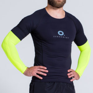compression-arm-sleeve-neonyellow