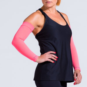 compression-arm-sleeve-coral
