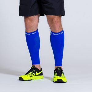 compression-calf-sleeve-blue