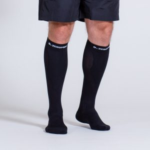 compression-sock-black