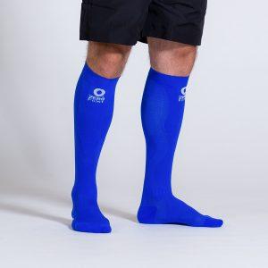 compression-sock-blue