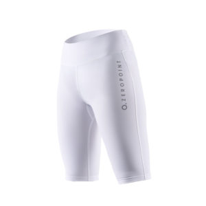 POWER COMPRESSION SHORTS WHITE WOMEN