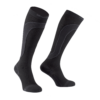 MERINO WOOL MEDIUM COMPRESSION SOCK Black