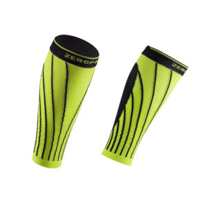 PRO RACING CALF SLEEVE LIME BLACK