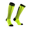 PRO RACING SOCK LIME BLACK