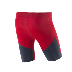 Athletic shorts red tit back