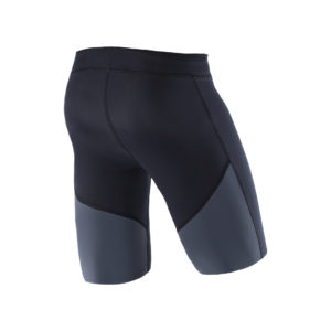Men Athletic Shorts black back