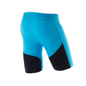Men Athletic Shorts nordic blue back
