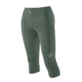 Women Athletic Compression 3-4 army