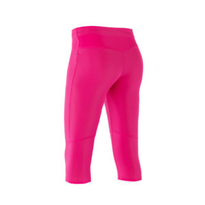 Women Athletic Compression 3-4 pink candy back