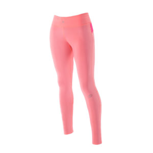 Women Athletic Compression tights Pink Soda Pink Candy