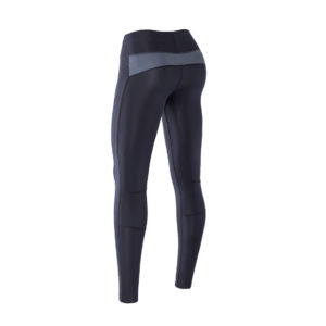 Women Athletic Compression tights black back