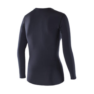 Women Athletic LS Top black back