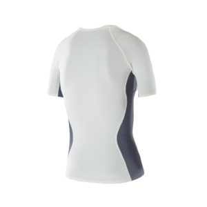 Women Athletic SS top Ivory back