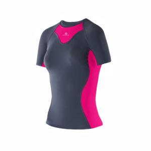 Women Athletic SS top dark grey_PC