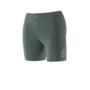 Women Athletic Shorts army