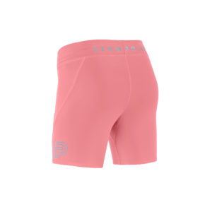 Women Athletic Shorts pink SODA back