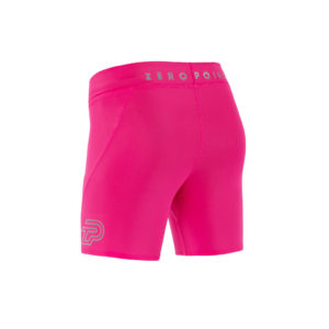 Women Athletic Shorts pink candy back