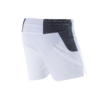 Running shorts White back