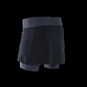 skirt black grey back