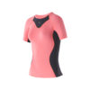 Women Athletic SS top pink soda