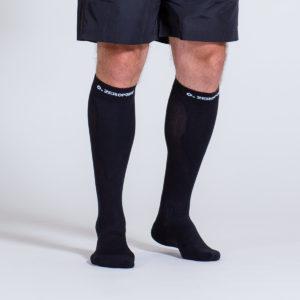 compression-sock-black