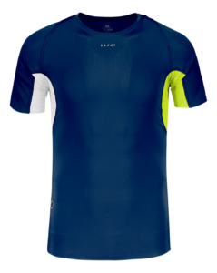 Men Athletic SS Top – NavyRadiant