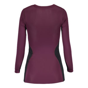 womens_compression_shirt_plum_back