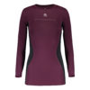 womens_compression_shirt_plum_front