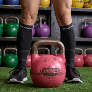 black-compression-sock