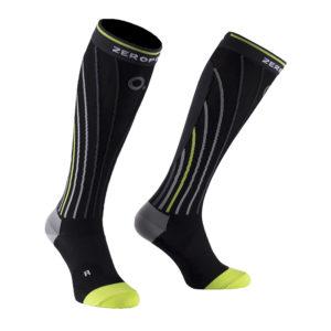 black-yellow-compression-socks