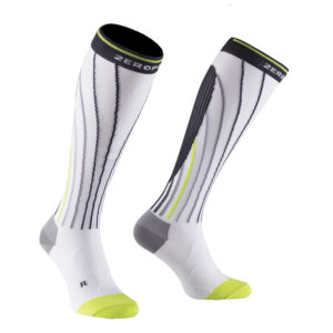 white-compression-socks