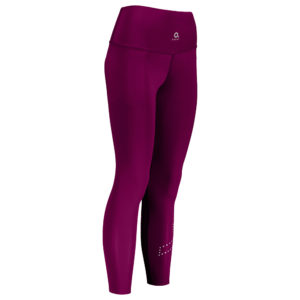 PERFORMANCE COMPRESSION TIGHTS W raspberry diagonal